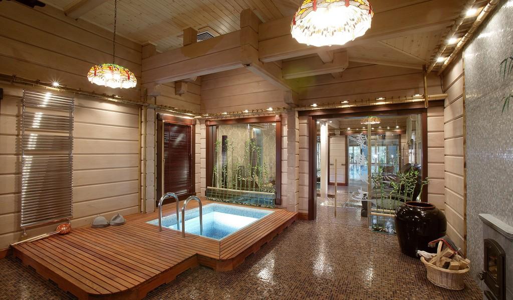 Дизайн комнаты отдыха в частном доме